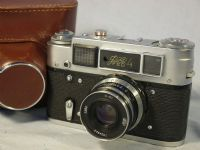 '  4 ' Fed 4 F192 Vintage Rangefinder Camera Cased -MINT- £24.99